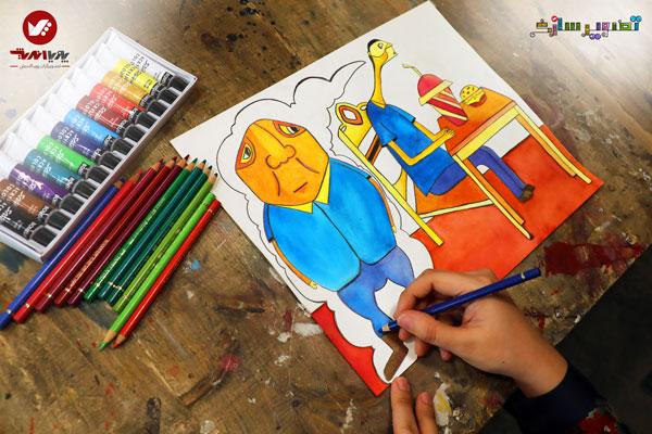 اموزشگاه آموزش تصویرسازی