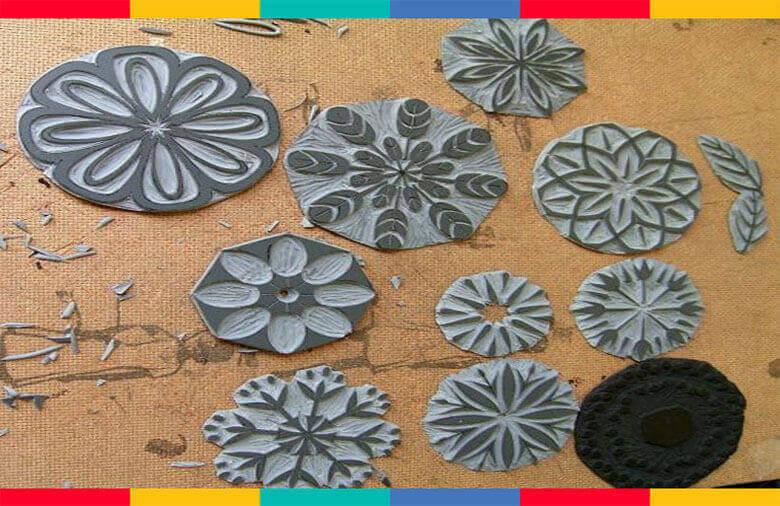 تصویرسازی روی فلزات در اموزشگاه پویااندیش