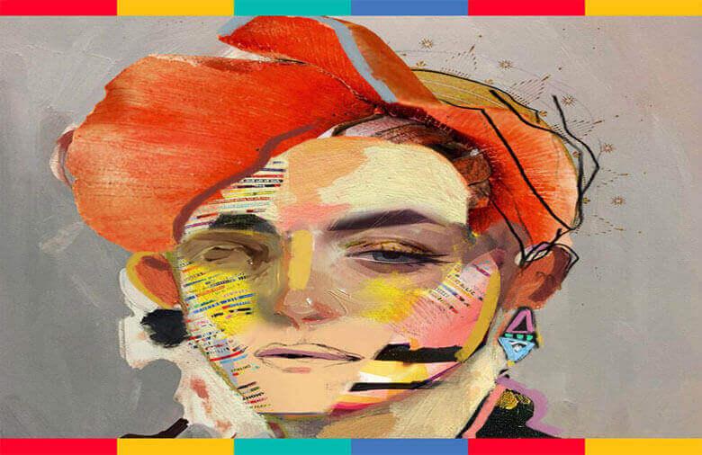 رنگ و پاستل در تصویرسازی