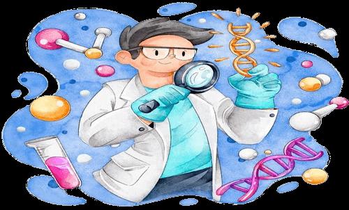 نمونه تصویر تصویرسازی موضوعات علمی