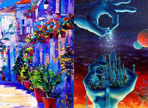 عکس تفاوت اصلی نقاشی با تصویرگری